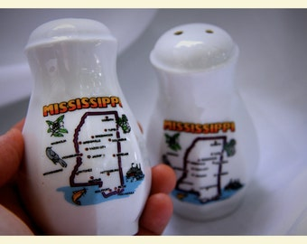 Mississippi Salt and Pepper Shakers