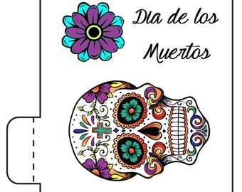 12 Dia De Los Muertos Lip Balm Favors - Dia De Los Muertos Favors - Day of the Dead Lip Balms - Day of the Dead Party Favors