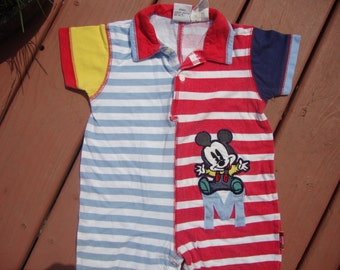 Cute as can be ..VINTAGE..DISNEY...CLOTHES..Baby..Boy or Girl Mickey Mouse..