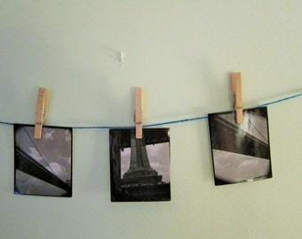 Set of Three Vintage Photographs of the Ben Franklin Bridge
