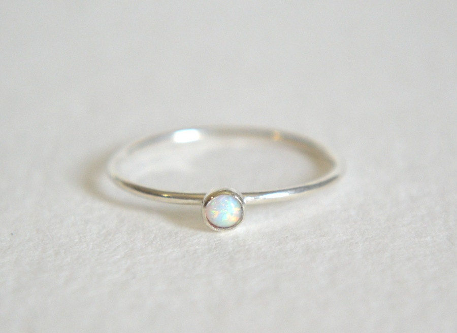sterling silver opal ring silver opal ring opal ring silver