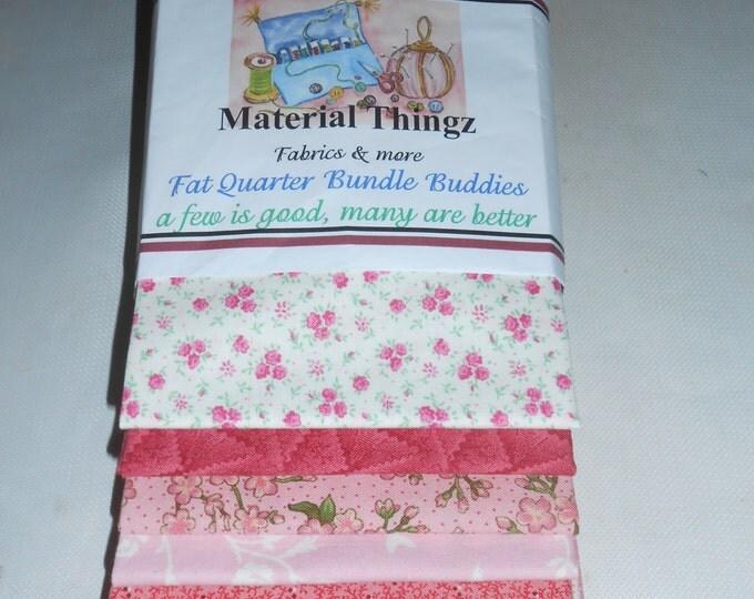 Fat Quarter Bundle Buddies 100% Quilters Cotton