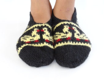 Turkish Hand Knitted Slippers/Socks