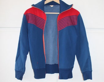 Retro Sweat Racer Jacket | Size 8 10