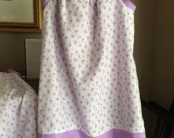 Handmade Pillowcase dress Purple