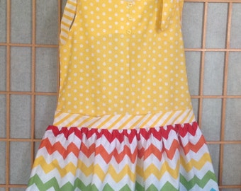Yellow Summer Sunny Dress
