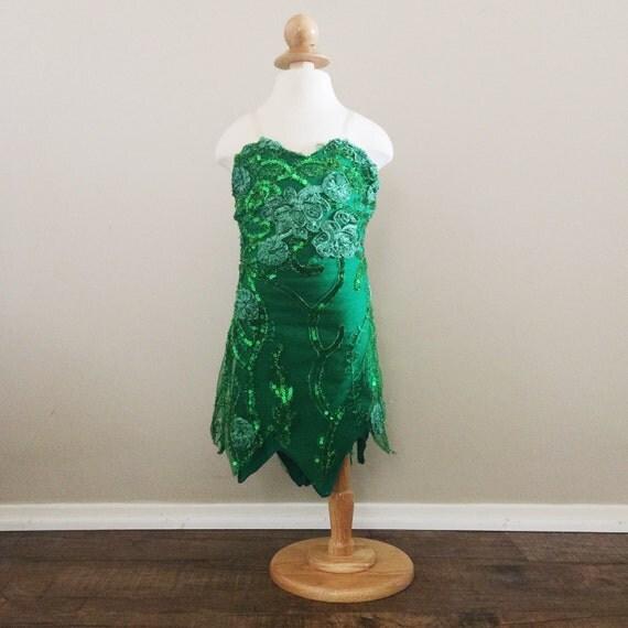 disney inspiriert tinkerbell kleid von peter pan. Black Bedroom Furniture Sets. Home Design Ideas