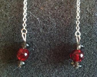 Buckeye Threader Earrings