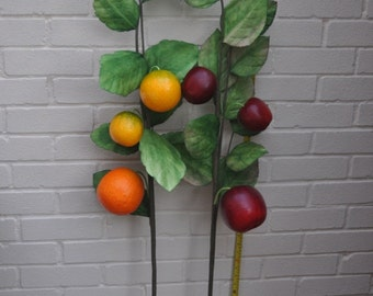 Giant Artificial Fruit Branches (Apples, Oranges)