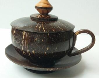 Coconut Shell Tea Cup