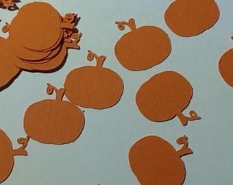 Pumpkin Confetti - autumn Decor - Party Decor - Party confetti - Table Scatter - Fall Confetti