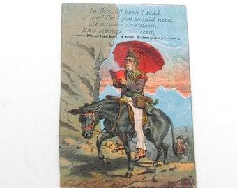 Victorian Trade Card Pawtucket Coal