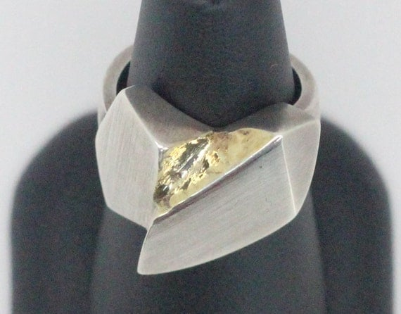 14k Gold Plated Sterling Silver Ring