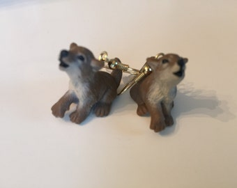 Wolf Cub Earrings