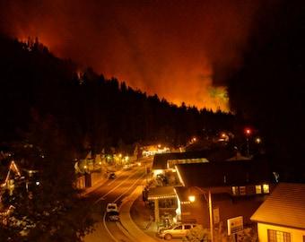 June Lake Fire 2014
