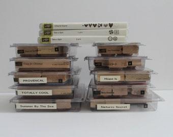 Stampin Up Stamp Sets- Lot-You Choose- Group 4