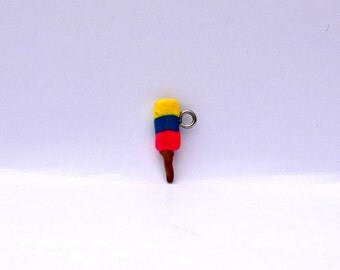 Clay Popsicle Charm