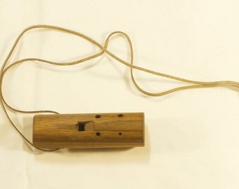 Handmade Wooden Ocarina in C - 6 holes