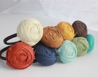 Beautiful Blooms Silk Hair Ties