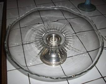 Sterling Cake Platter