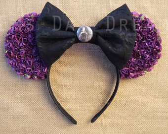 Maleficent Minnie Ears