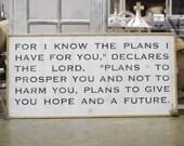 Jeremiah 29:11 2'x4&#...