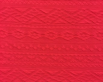 Embossed Liverpool Spandex