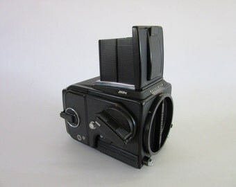 Vintage 1989 Hasselblad 203fe  Mint mid format film camera body + back e12 6x6 film photography