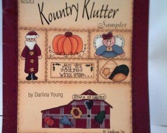 Kountry Klutter Sampler Tole Painting by Darlina Young 1996