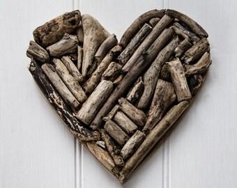 Handmade Driftwood Heart