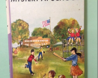 The Bobbsey Twins Mystery At School, Laura Lee Hope, 1962