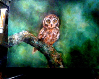 owl- custom by Sara