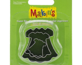 Makin's Clay Cutters (3 Pack) - Dress - Cookie Cutters