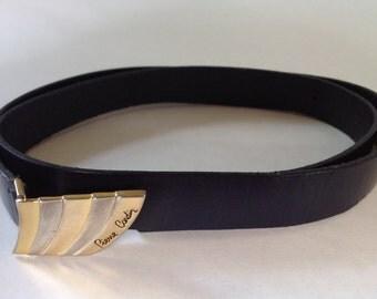 Vintage PIERRE CARDIN Women's Skinny Belt