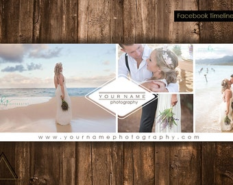 Photography Facebook Timeline Cover Template - Photographer Cover - Photography Template - Photoshop Template - Cover Photo - Website Banner