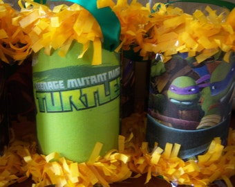 TMNT Teenage Mutant Ninja Turtles Piñata Candy Favor Bags