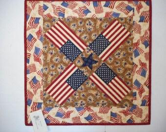 """Americana Table Topper 22-3/4"""" square"""