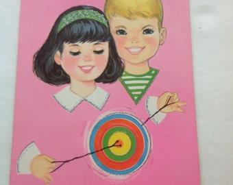 Vintage Get Well  Card Unused 1960s
