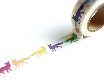 Foxies washi tape