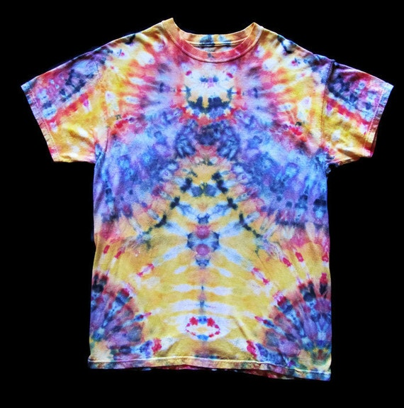 New Ice Dye Tie Dye 100 Cotton T Shirt Adult By