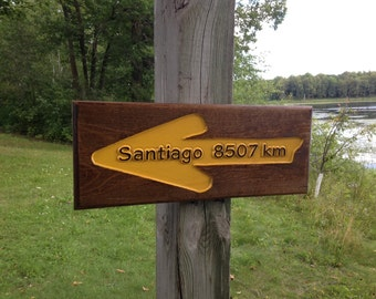 Kilometers from your house to Santiago!