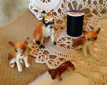 Vintage dog collection figurines
