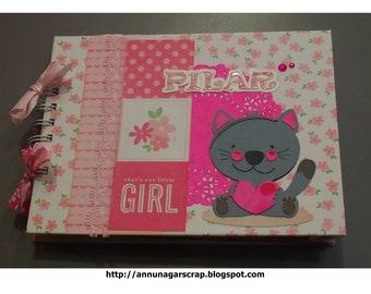 Baby girl baby girl album scrapbook photo album