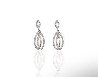 Double Earring 925 / Sterling Silver