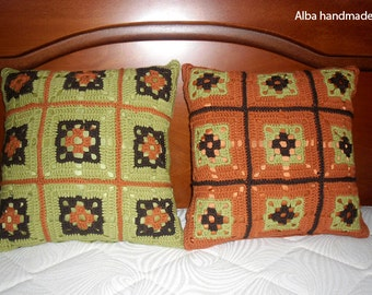 Cushions, Handmade, 2 pieces