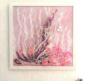 Gems and Botanical Abstract Art