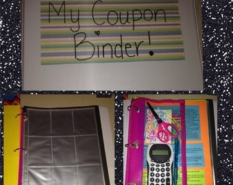 Fully equipped coupon binder