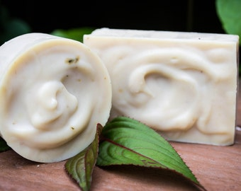 Green Tea and Chamomile. Handmade Soap. Homemade Soap. Natural Soap. Soap.