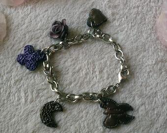 "Charm bracelet ""Butterfly"""