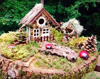 Ladybug Fairy Garden